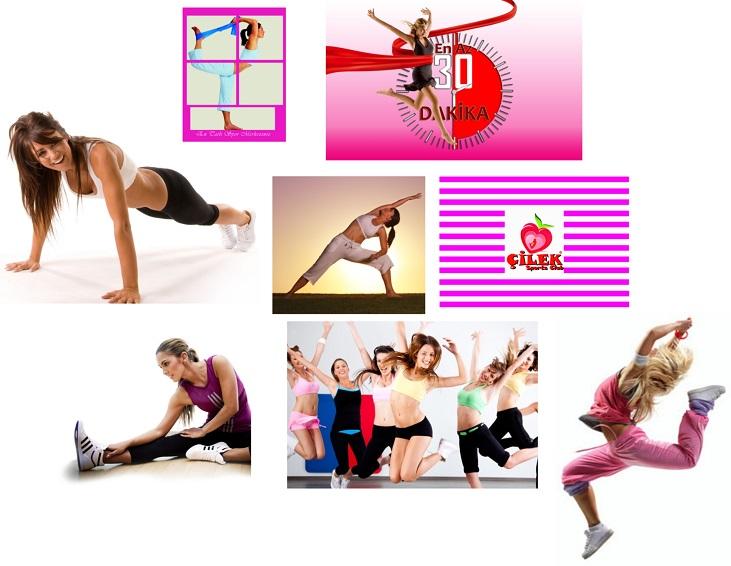 www.cilekspor.com fitness kadinlara ozel franchise